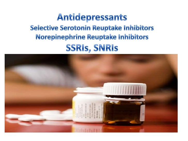 Antidepressants powerpoint