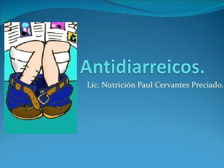Antidiarreicos