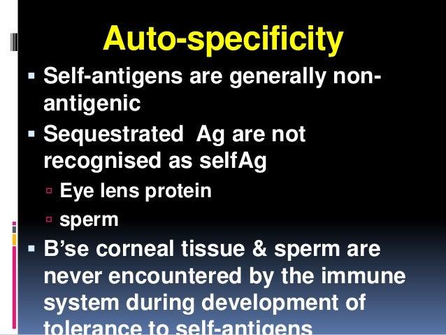 Iare blood antigens in sperm