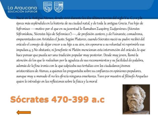 resumen de la biografia de platon aristoteles y socrates