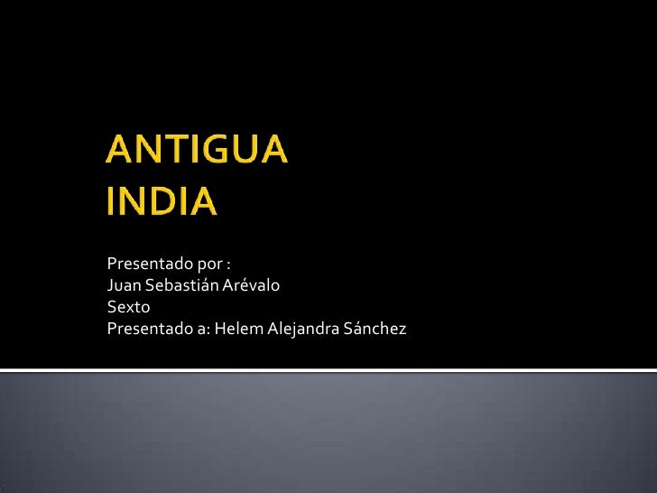 Antigua India