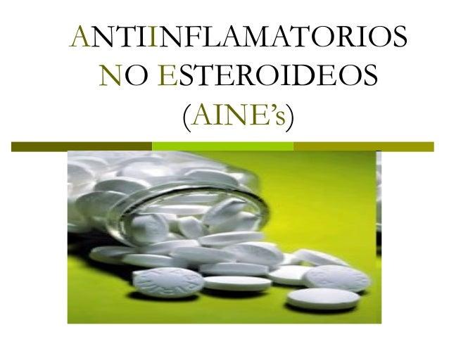 analgesicos esteroideos