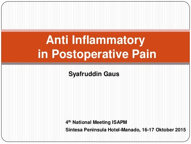postoperative pain management thesis University of medicine and pharmacy craiova faculty of medicine abstract doctoral thesis analgesia an important element in the postoperative management of the patient.