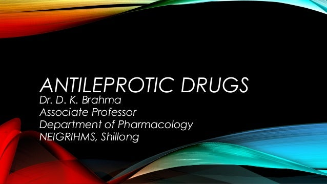 Antileprotic drugs - drdhriti