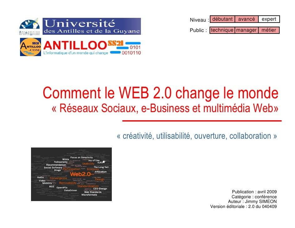 Réseaux Sociaux et le WEB 2.0