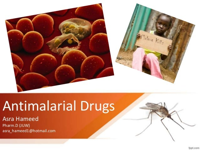 Side effects of anti malaria medication