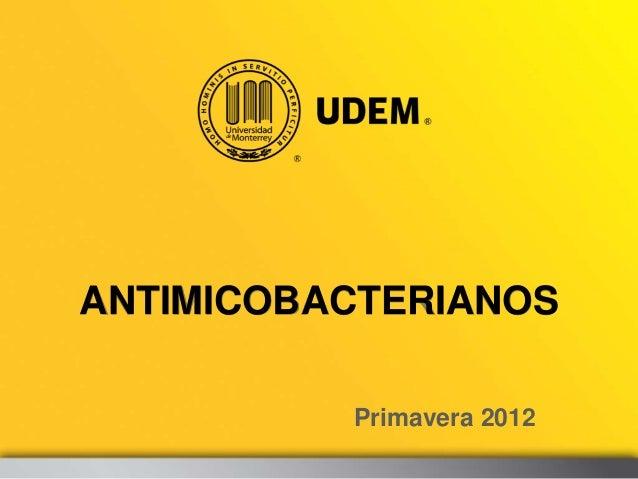 Antimicobacterianos (2)