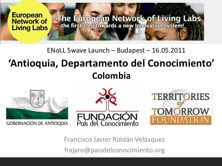Living Lab 'Antioquia, Departamento del Conocimiento'