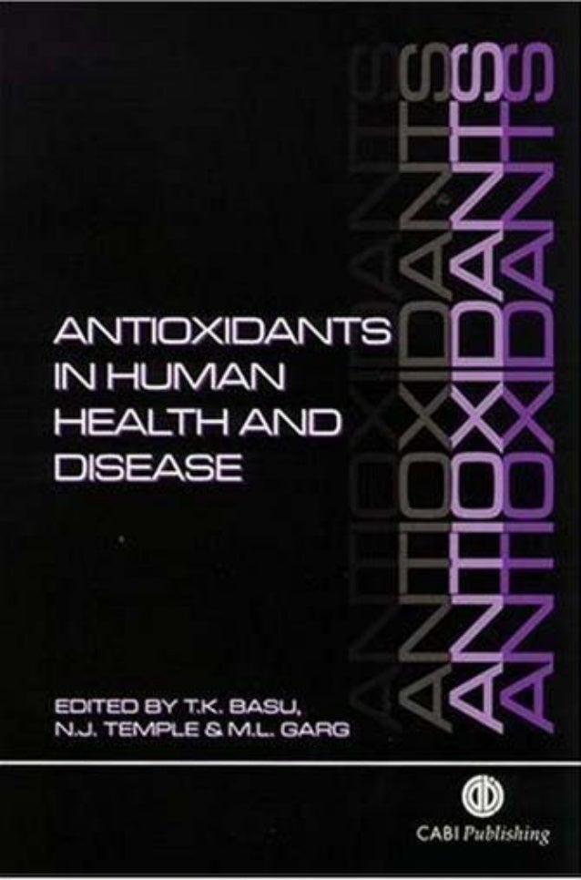 00Prelims  24/5/99 10:59 am  Page i  ANTIOXIDANTS IN HUMAN HEALTH AND DISEASE