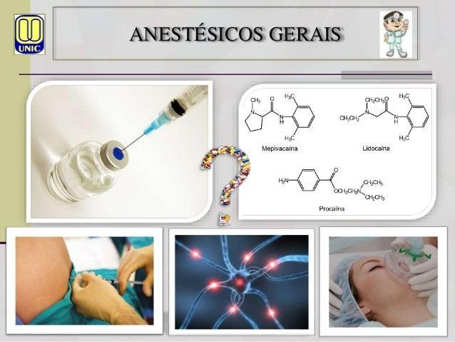 Antiparkinsonianos e Anestésicos Gerais