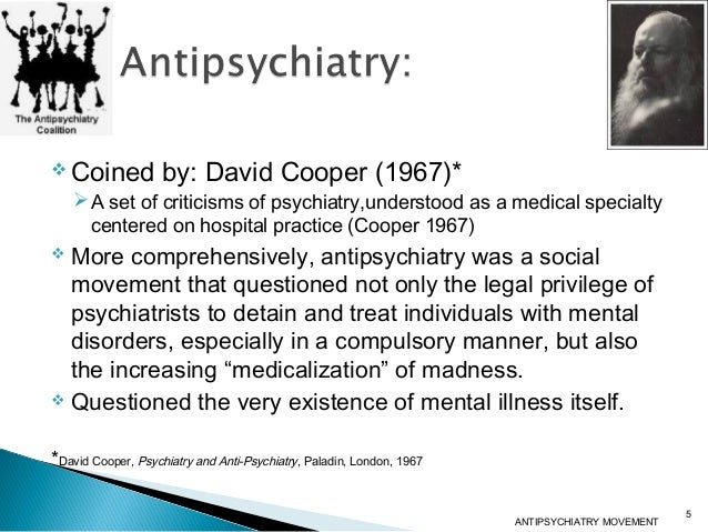 anti psychiatric approach to mental disorder