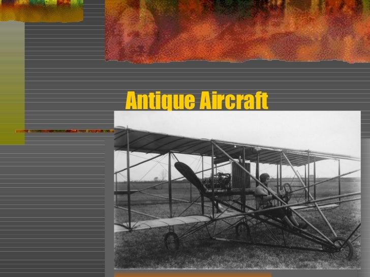 Antique Aircraft