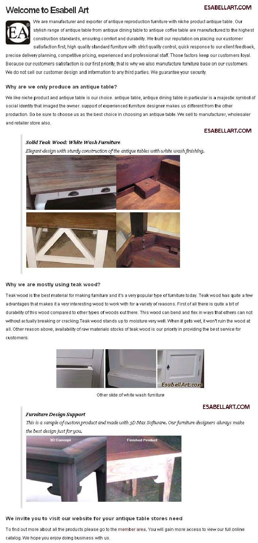 Antique reproduction-furniture