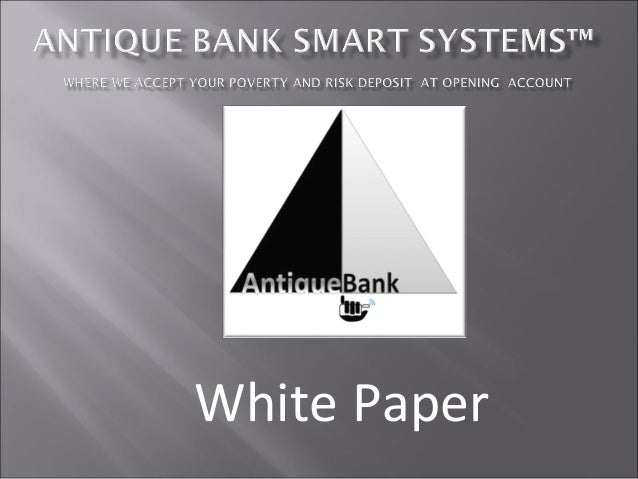 Antique bank smart systems ™#mystartupstory
