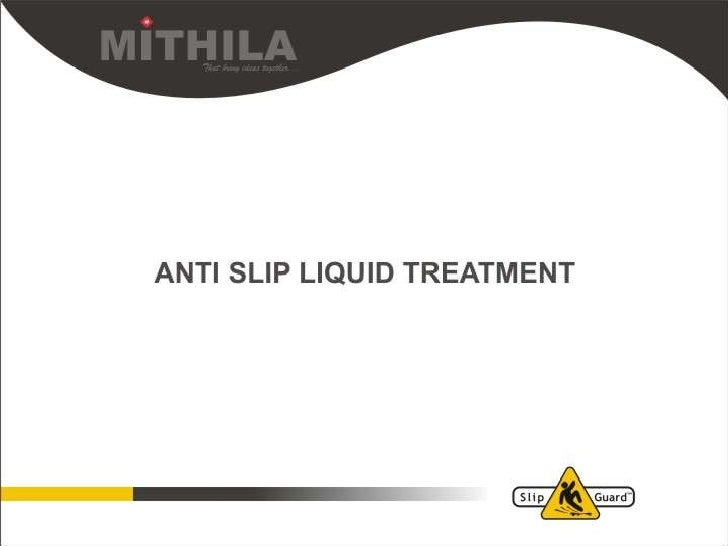 Anti Slip Liquid