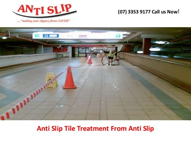 Anti Slip Tile Treatment : Anti slip tile treatment from
