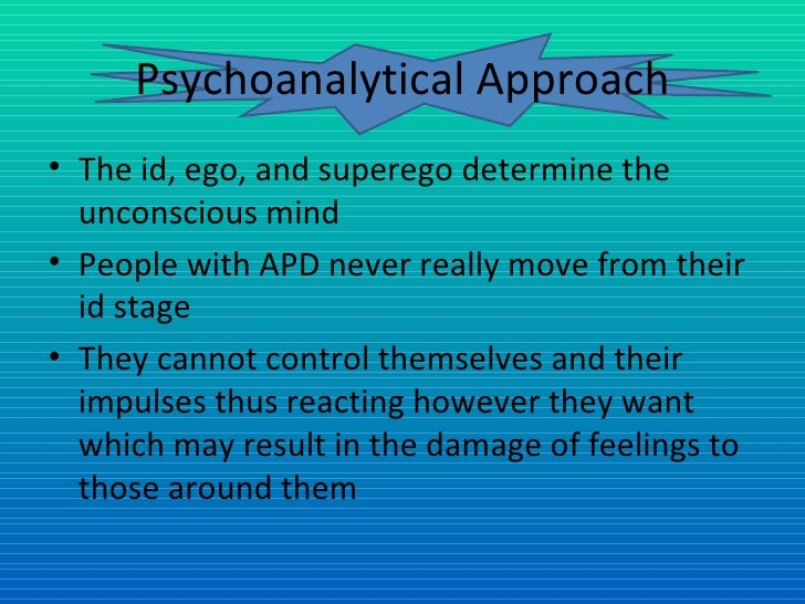 Antisocial personality disorder essay conclusion
