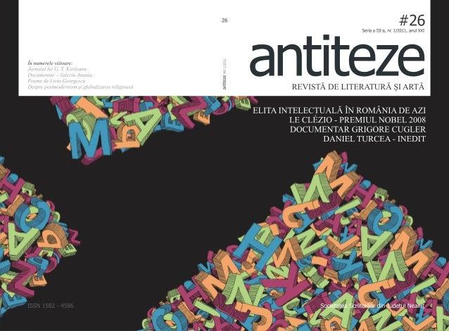 Antiteze nr.1.2011