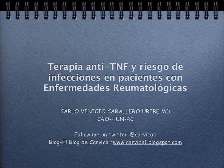 Biologics and infections. Cartagena 2012