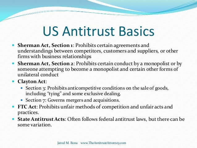 antitrust practices essay Identify some of the costs (pecuniary and nonpecuniary) associated with the antitrust behavior (firms having power in the market) additionally, note the.