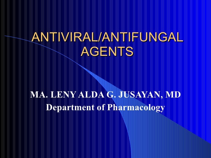 Antiviral Lecture