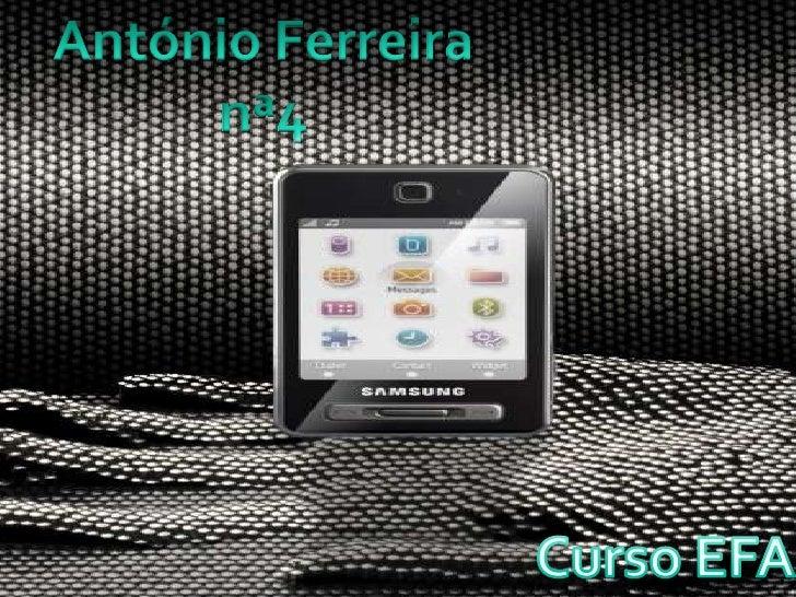 António Ferreira - Telemóvel