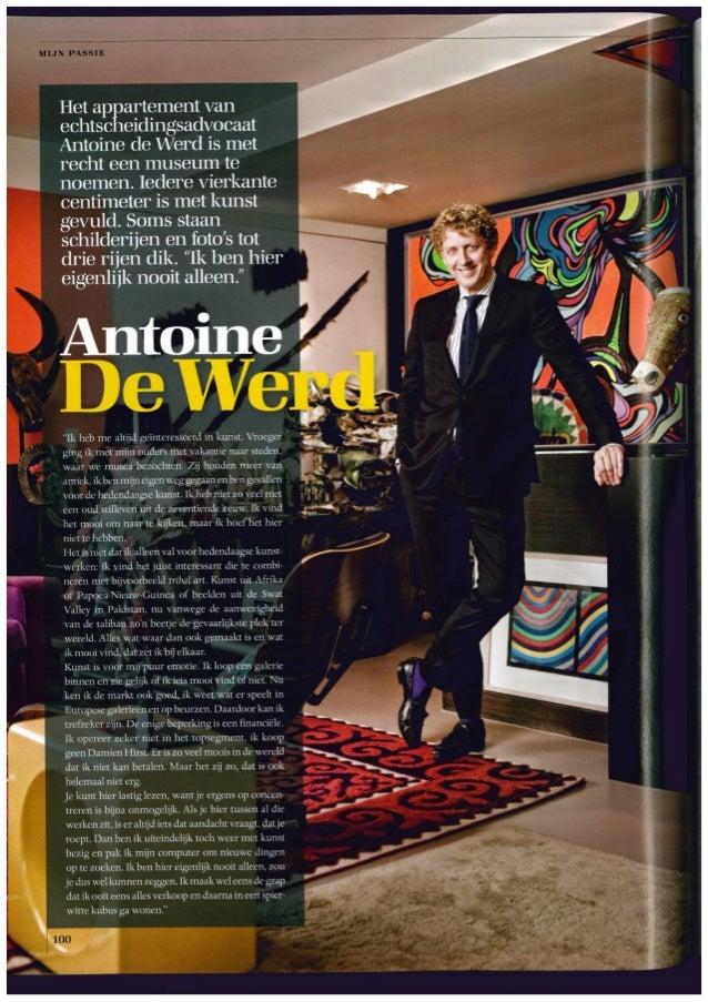 Antoine de Werd in LXRY
