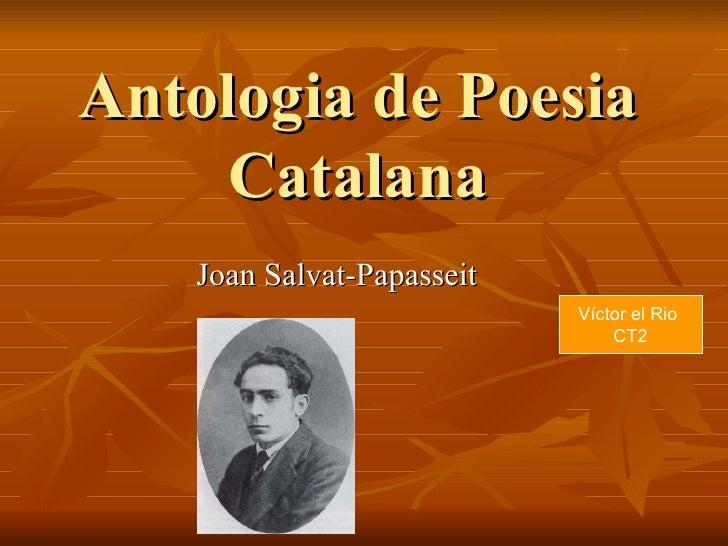 Poesia Antologia Catalana
