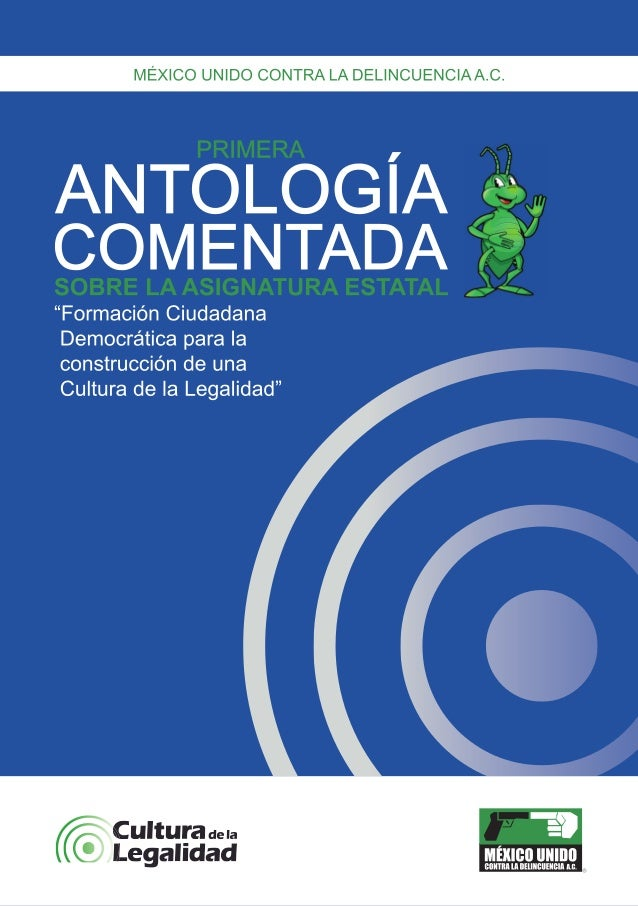 Antología comentada - Asignatura Estatal 2011-2012