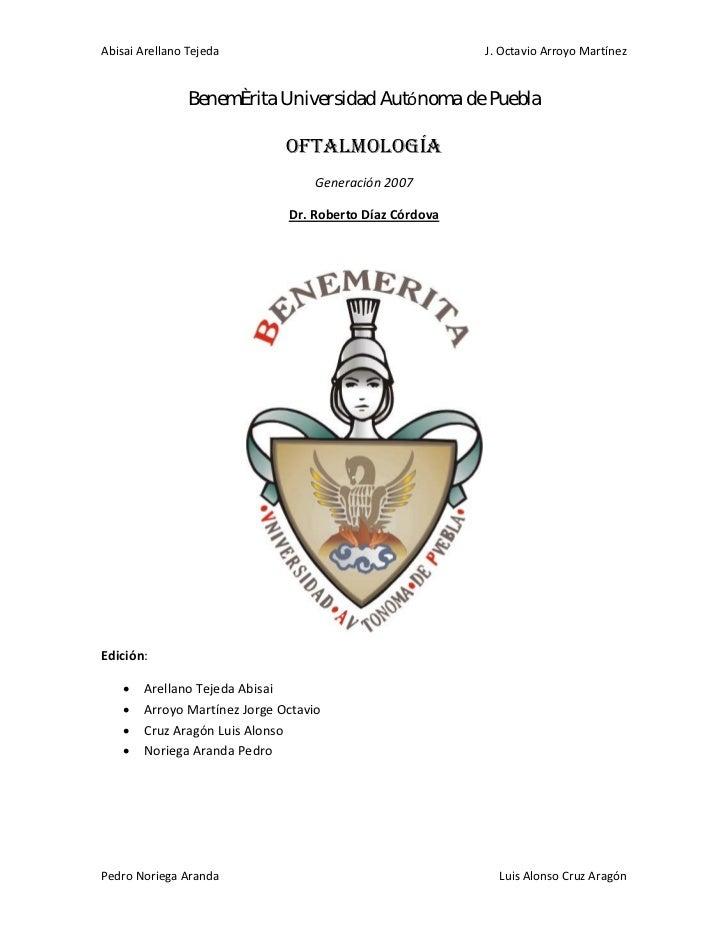 Guía de Oftalmología