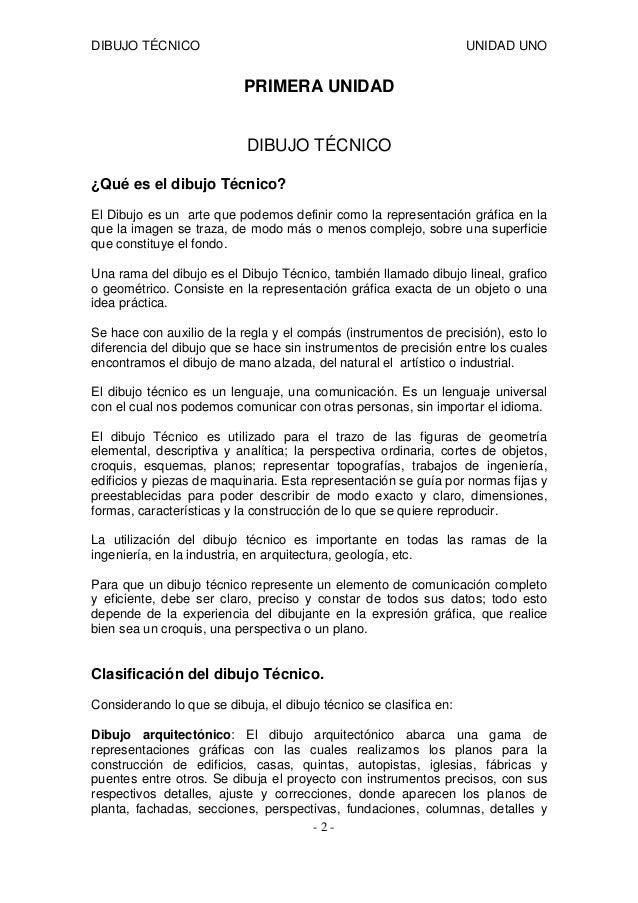 Antologia unidad 1 dibujo tecnico