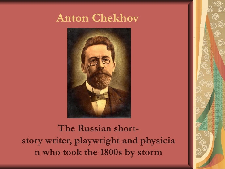 anton chekhov + the bet + essays Anton chekhov was born on the feast day of st anthony the great (17 january old style) 29 january 1860, the third of six surviving children, in taganrog, a port on the sea of azov in southern russiahis father, pavel yegorovich chekhov, the son of a former serf and his ukrainian wife, were from the village vilkhovatka near kobeliaky (poltava.