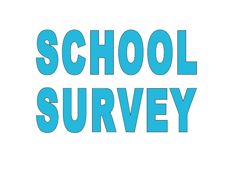 SCHOOL SURVEY
