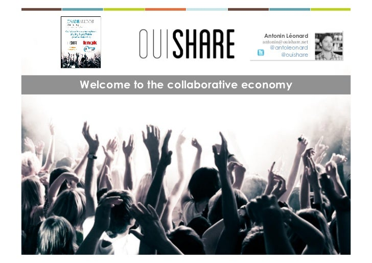 OuiShare Collaborative Consumption - ESADE