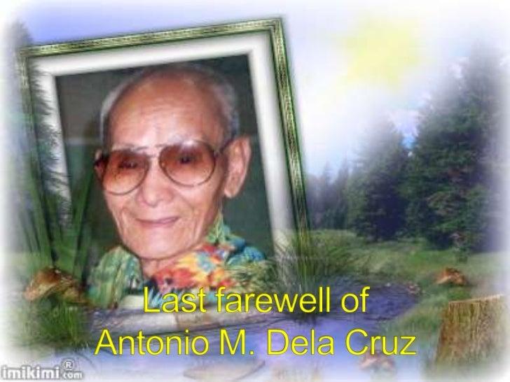 Antonio M. Dela Cruz's Last Farewell at  Holy Gardens Pangasinan Memorial Park