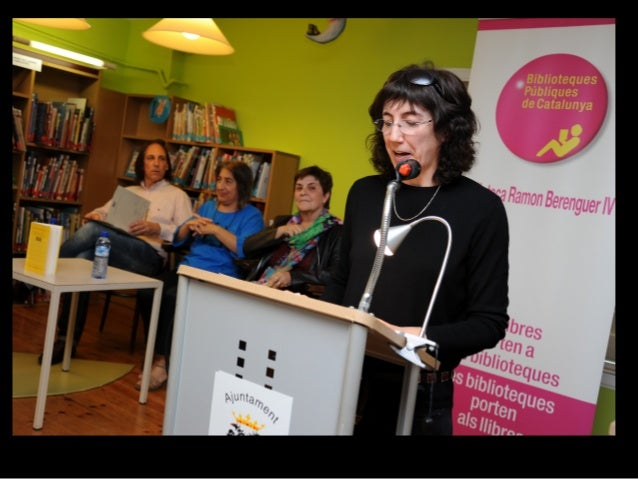 "16 de maig de 2014 Presentació de ""Rostoll"" de M. Dolors Coll Magrí Imatges cedides per Antonio Galeote Biblioteca Ramon B..."