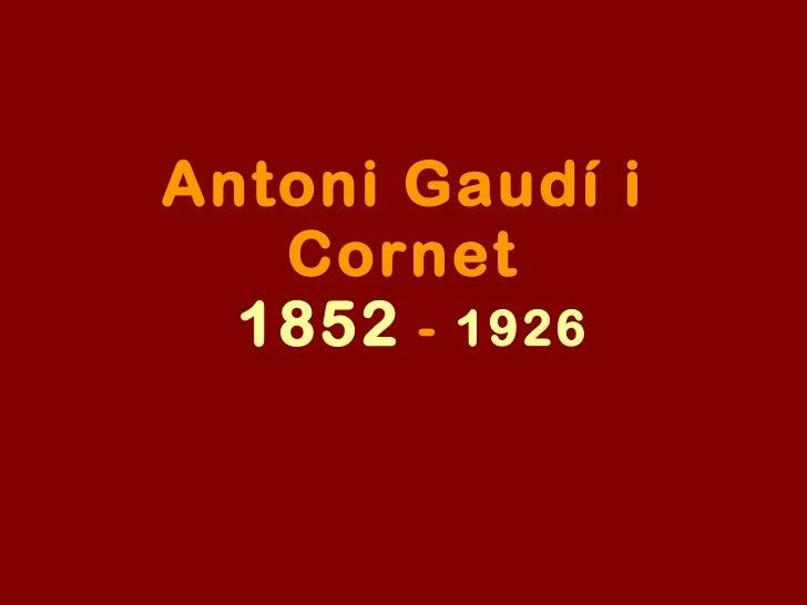 Antonio Gaudii/Spanish architecture