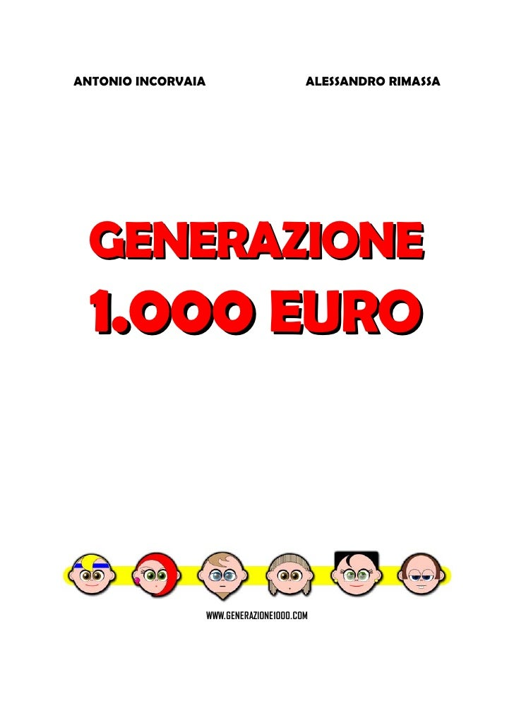 Generazione 1000 €