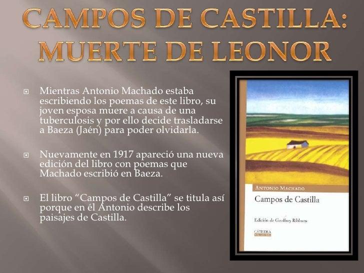 Campos de Castilla Libro Campos de Castilla