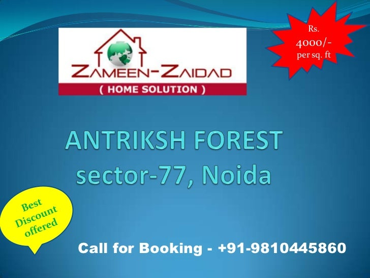 Rs.                          4000/-                          per sq. ftCall for Booking - +91-9810445860