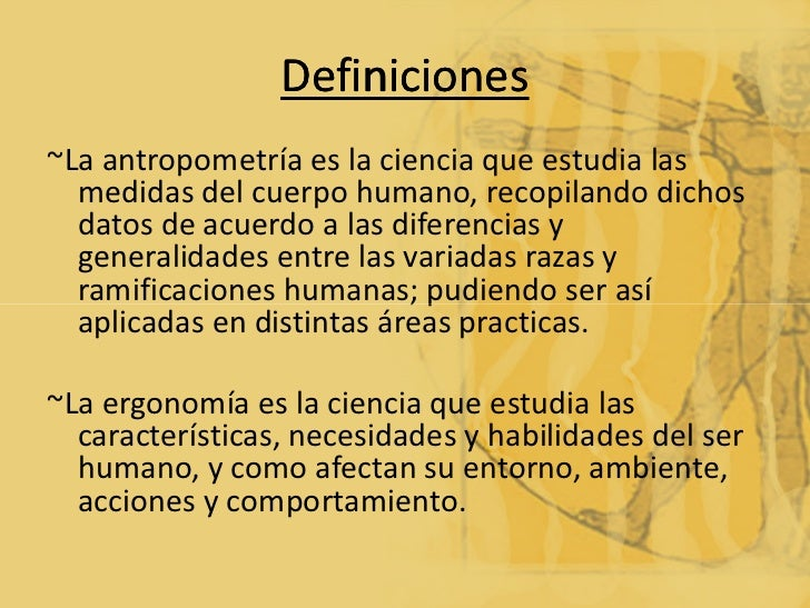 Antropometr A Ergonomia Y Metodologia