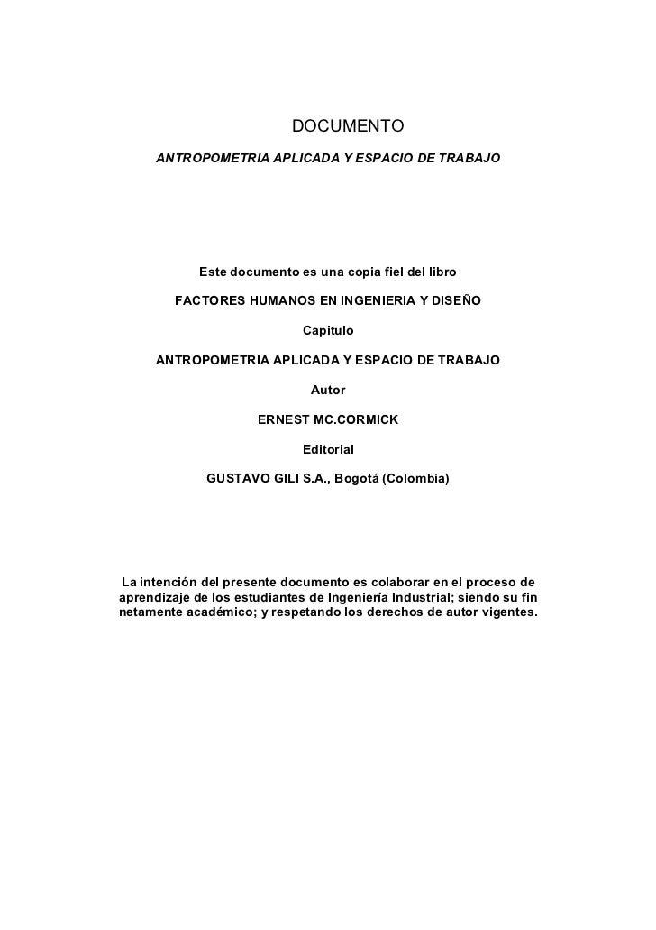 Antropometria for Antropometria libro