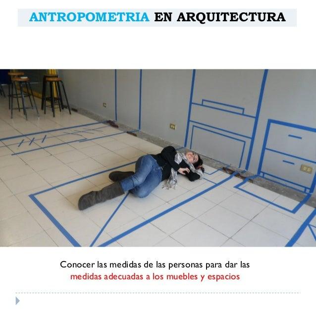 Antropometria Arquitect Nica