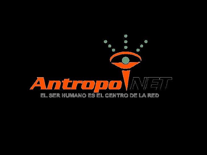 Presentación Principal AntropoNet