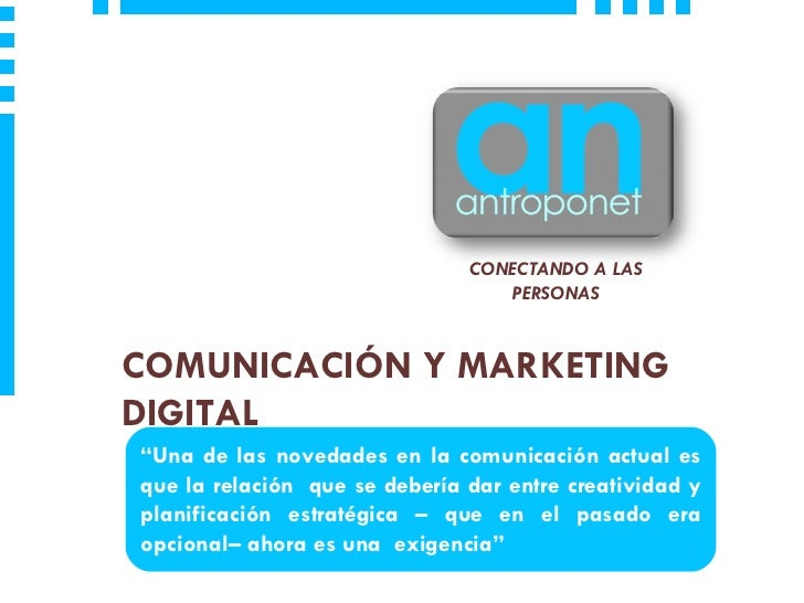Presentación AntropoNet 2012