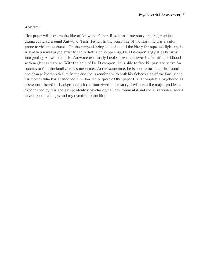 Antwone Fisher Essay