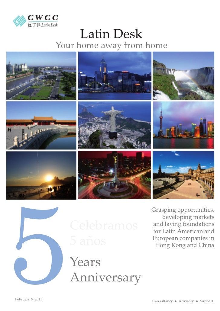 CWCC - Latin Desk - 5 Years Anniversary