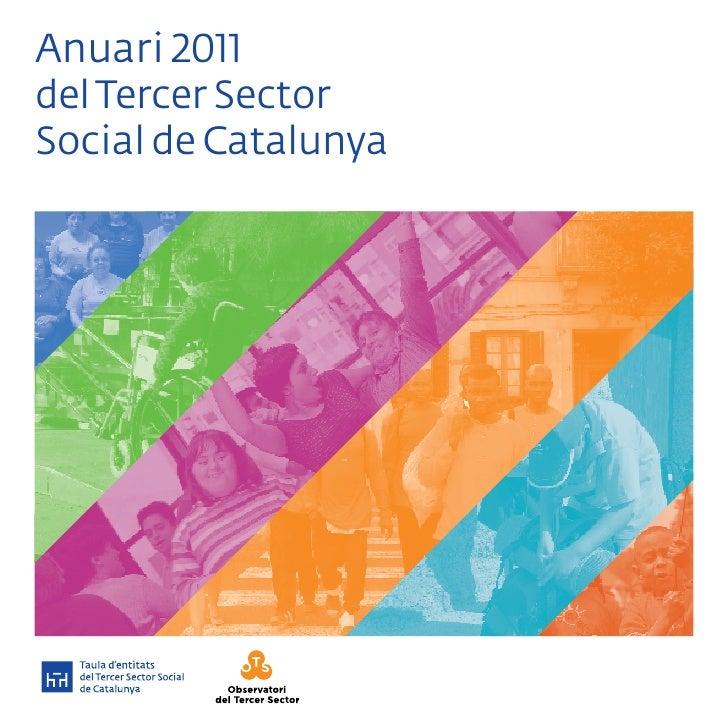 Anuari 2011del Tercer SectorSocial de Catalunya