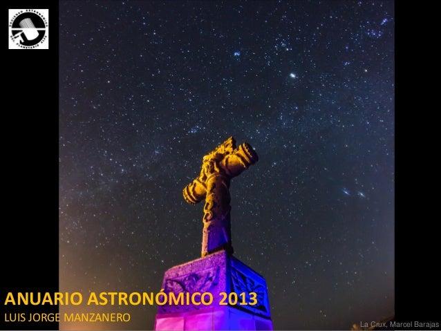Anuario Astronómico 2013