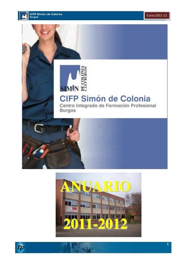 Curso 2011-12ANUARIO2011-2012                            1